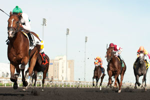 Thumbnail for Lucky Lindy Makes the Grade in Ontario Derby