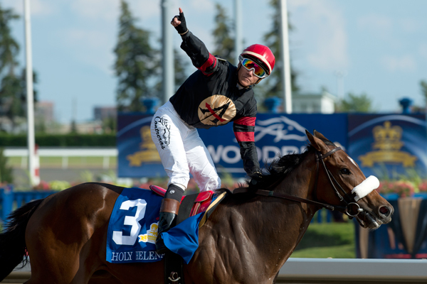 Thumbnail for Holy Helena trounces males in 158th Queen's Plate