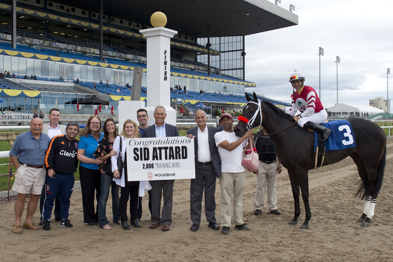 Thumbnail for Lady With Class posts milestone 2,000th career win for trainer Sid Attard