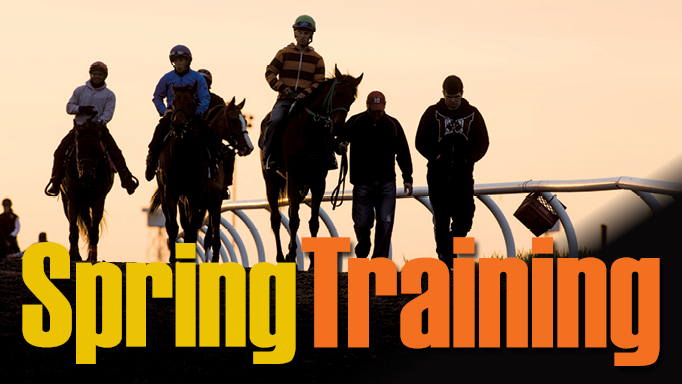 Thumbnail for Braving The Weather for Horse Racing's Spring Training