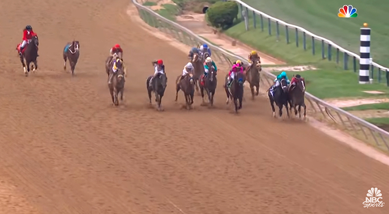 Thumbnail for Mark Casse Trained War of Will Takes Preakness Stakes