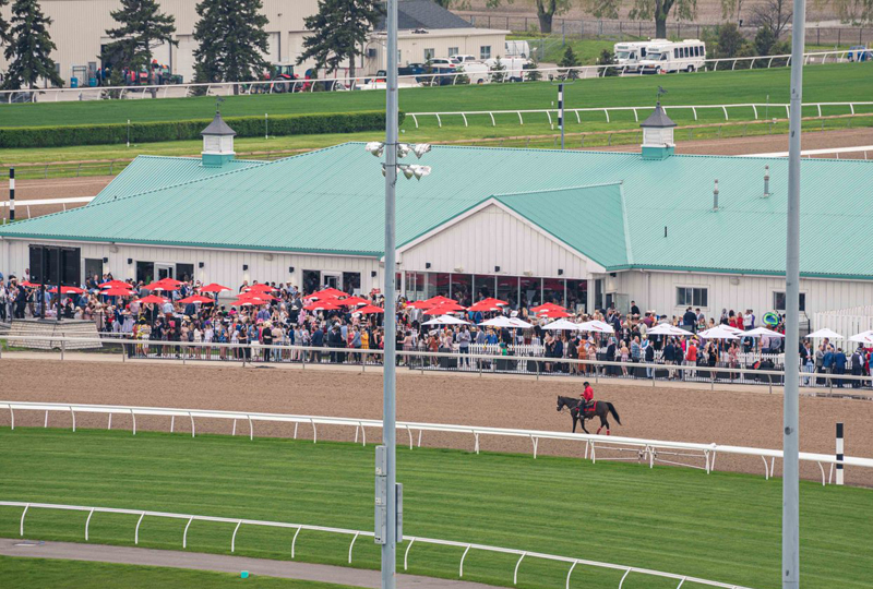 Thumbnail for New Trackside Clubhouse Opens at Woodbine Racetrack
