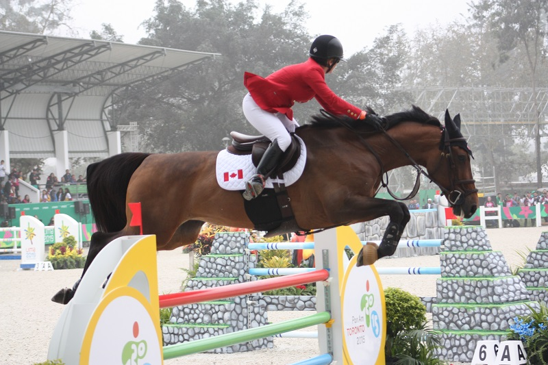 Thumbnail for Pan Am Games Jumping: Ups and Downs for Canada in Opening Competition
