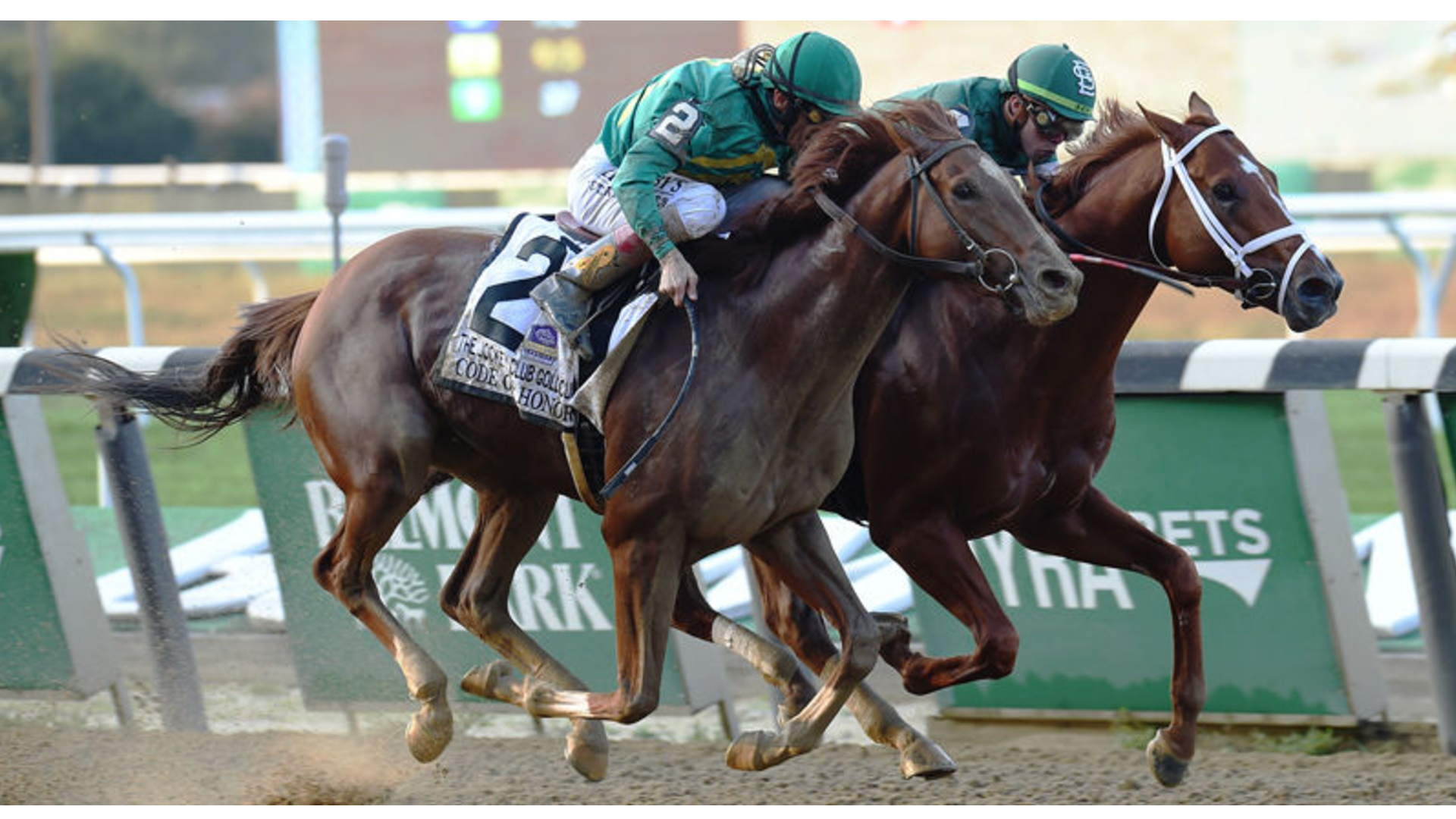 Thumbnail for Vino Rosso on to Breeders' Cup Classic After Jockey Club DQ