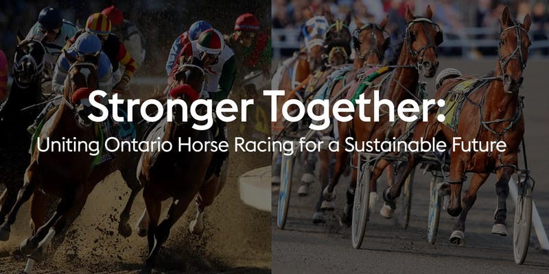 Wednesday Dec. 11: Stronger Together Panel Discussion at 2:30 pm Woodbine Backstretch