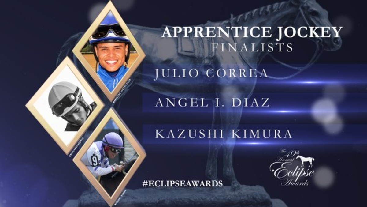 Woodbine's Kazushi Kimura Up for Eclipse Award Thursday Night