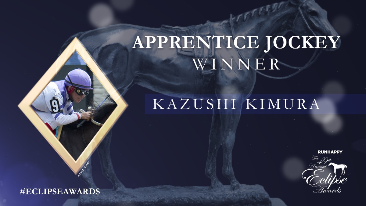 Thumbnail for Kazushi Kimura wins Eclipse Award for Outstanding Apprentice