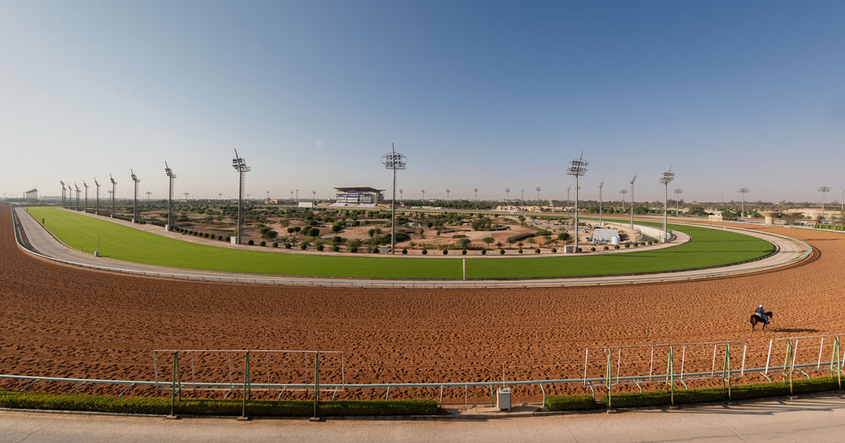 Maximum Security Arrives in Desert for Saudi Cup