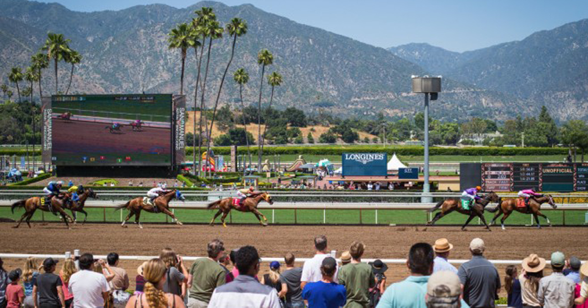 LA County Health Department Shuts Down Santa Anita