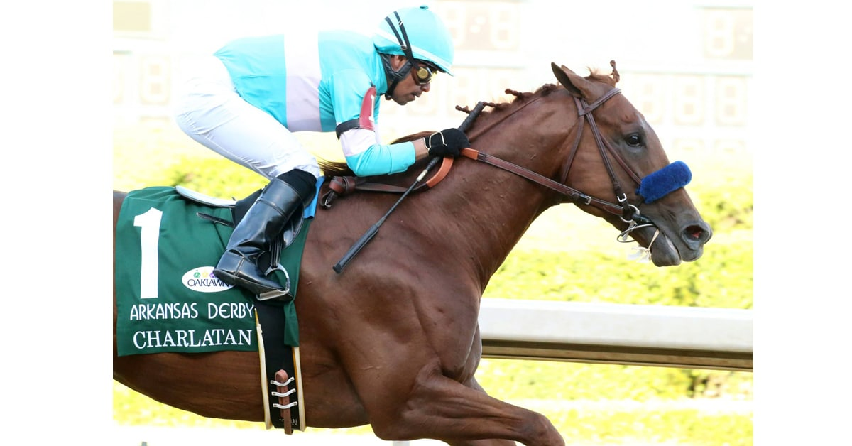 Thumbnail for Charlatan, Arkansas Derby Winner, Tests Positive Under Bob Baffert