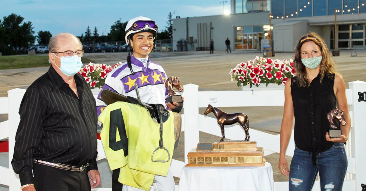 Thumbnail for Tiffany Husbands Has Undefeated Filly for Starfield