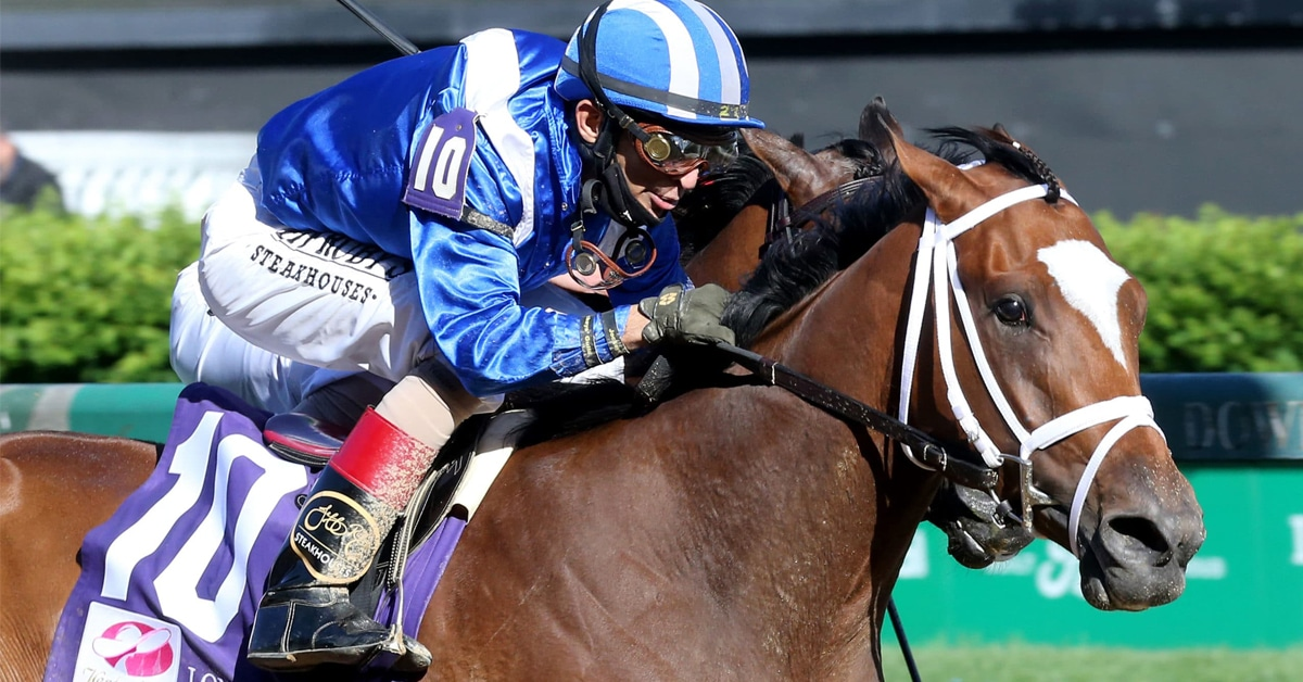 Thumbnail for Malathaat Battles to Kentucky Oaks Win for Shadwell