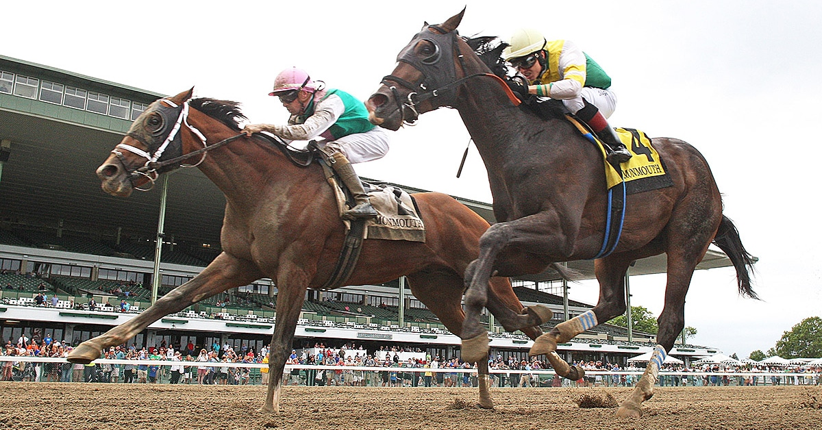 Thumbnail for Queen's Plate Favourite Weyburn Edged by Mandaloun