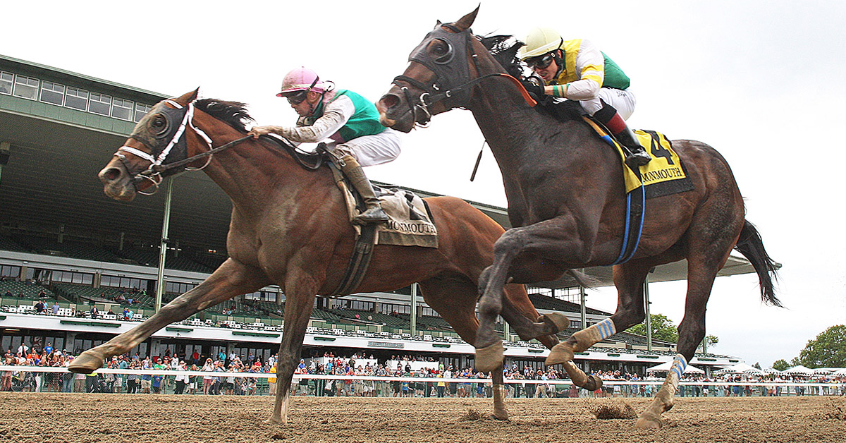 Thumbnail for Canadian Colt Weyburn Faces Stern Test in Grade 2 Jim Dandy
